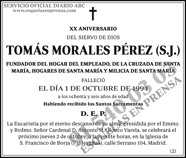 Tomás Morales Pérez (S.J.)